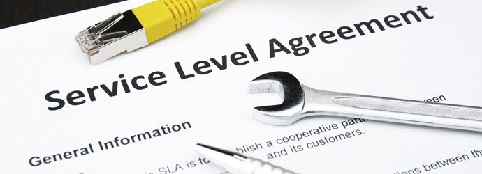 Writing service level agreement template